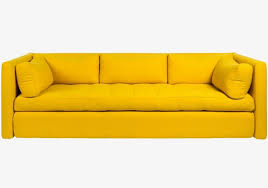 Yellow Leather Sofa Sofa Yellow Sofa Leather Sofa Png Image For Free Download