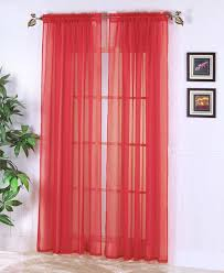 Coral Sheer Curtains Coral Sheer Curtain Panels 100 Images Curtain Vcny Coral