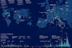 marian map 500 years of sightings in one map