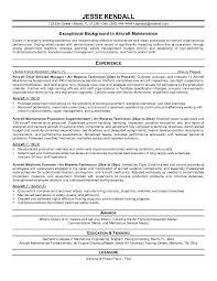 aviation resume exles aircraft mechanic resume objective sle shalomhouse us