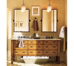 Antique Bronze Bathroom Mirrors Kensington Pivot Rectangular Mirror Pottery Barn And Kid Bathrooms