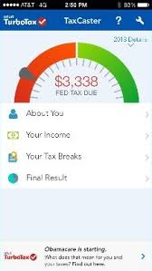 Estimate Tax Refund 2014 by Estimate Tax Refund With Turbotax Taxcaster 2017 2018