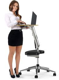 Adjustable Height Standing Desk by Roomyroc Standing Desk With Height Adjustable Footrest