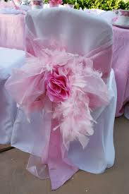 chair covers for baby shower s baby shower chair pink or blue ribbons flowers and