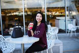 Cute Girls Hairstyles Instagram Asian Coffee Cafe Cute Smiling Happy Black Hair Chinese