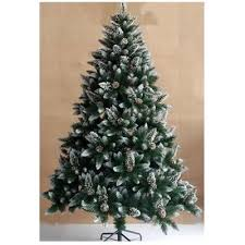 6ft christmas tree buy bavaria ft snow flocked and pine cones christmas tree from our