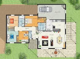 plan de maison avec 4 chambres plan maison 4 chambres free maison chambres suite parentale cuisine