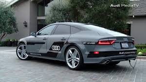 audi a7 self driving audi a7 self driven concept car begins 550 mile journey in the us