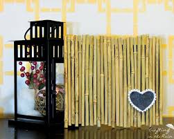 Decorative Bamboo Sticks Infuse An Asian Vibe With Diy Bamboo Wall Decor Homesthetics