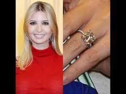 Wendy Williams Wedding Ring by Celebrity Ivanka Trump U0027s Engagement Ring Youtube
