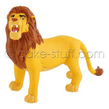 lion cake topper bullyland simba disney lion king cake topper decoration