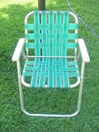 Vintage Aluminum Folding Chairs Excellent Inspiration Ideas Lawn Chair Webbing Vintage Pair Chaise