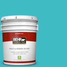 behr premium plus 5 gal white flat ceiling interior paint 55805
