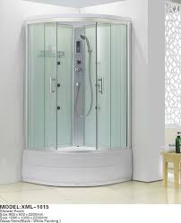 free standing glass shower enclosure free standing glass shower