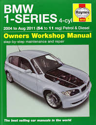 bmw 1 series 4 cyl petrol u0026 diesel service u0026 repair manual 2004