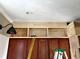 how to finish the top of kitchen cabinets ceiling how to finish the top of kitchen cabinets kitchen cabinets