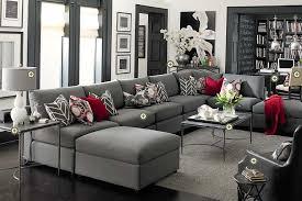 Impressive  Dark Gray Living Room Design Inspiration Of Best - Gray living room sets