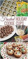 frosted holiday cookie cups easy christmas cookies to make u0026 decorate