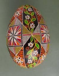 ukrainian easter egg pysanka pysanky easter egg written dyed on goose shell