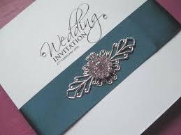 wedding invitations luxury wedding invitations satin ribbon in all colour