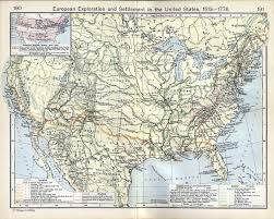 Colonial America 1776 Map by North America Maps