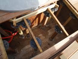 jacuzzi bois exterieur pour terrasse insertion d u0027un spa dans une terrasse en bois terrasse en bois