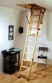 easy attic pulldown stairs latest door u0026 stair design