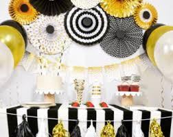 black and gold party decorations birthday party decorations bridal shower decorations