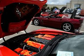 tri lakes corvette photos colorful corvettes on display at car beaumont