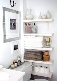 bathroom storage over toilet brown cotton towel small bathroom