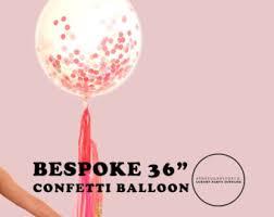 confetti balloon etsy