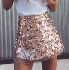 sequin skirt bec gold sequin skirt storey boutique