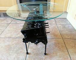How To Make An Engine Block Coffee Table - coffee tables for petrolheads collection on ebay