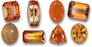 orange and color gemstones by color list of gems sorted by color by gemselect