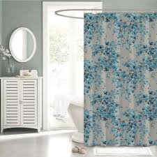 Turquoise Shower Curtain Buy Turquoise Fabric Shower Curtain From Bed Bath U0026 Beyond