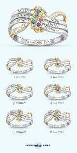 mothers day rings personalized s day our familys forever personalized ring unique