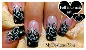 tattoo nail art designs skull nail designs get yo nails did