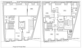Triplex Floor Plans Reconversão Urbana Properties Príncipe Real 32 Apartment
