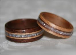 wood wedding band 32 portraits wooden wedding ring sets amazing home design news