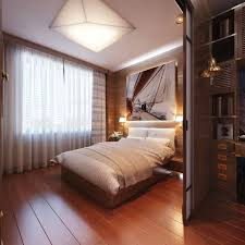 inspiring bedroom design ideas with warm recessed lighting and