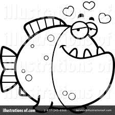 piranha clipart 1141149 illustration by cory thoman