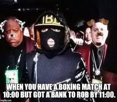 Floyd Mayweather Meme - mayweather bank robber imgflip