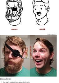 Beard Shaving Meme - beard shaving comic parodies image gallery know your meme