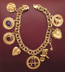 best bracelet charms images 638 best charm bracelets necklaces images gold jpg