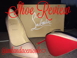 shoe review christian louboutin pigalle 100 kandacenicole