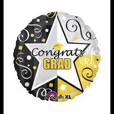 3 pack jumbo 32 congrats grad balloons inflate create