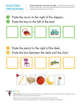 following directions worksheets sparks