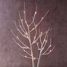 light up white branches west elm