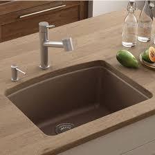 Under Mount Kitchen Sink by Ellipse Single Bowl Undermount Kitchen Sink Made Of Granite