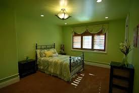 bedroom what color goes with sage green walls orange and green
